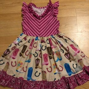 """Eleanor Rose"" Dress Size 7-8"